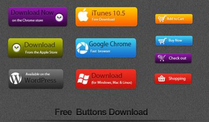 Free Vector Button Download