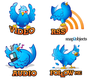 Free Hand Drawn Twitter Icons