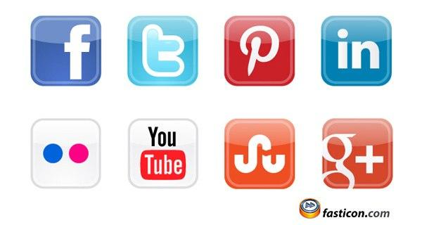 Free Icons: Social Media Vector Icons Free