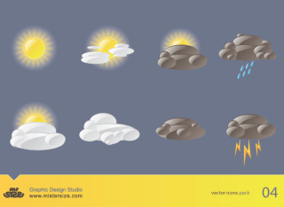Free Weather Vector Icons Pack