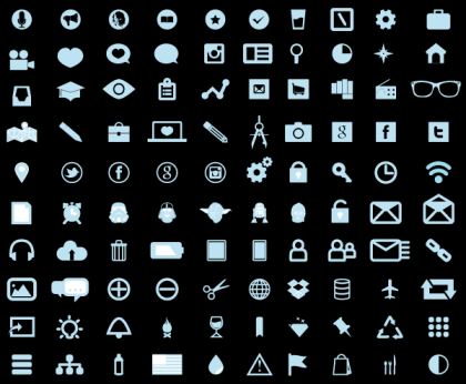 Free Fresh Icons Vector Pack
