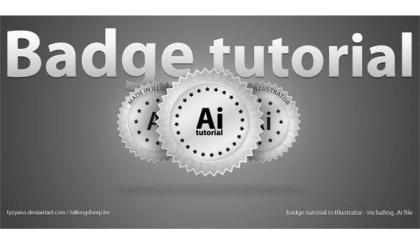 Badge in Adobe Illustrator