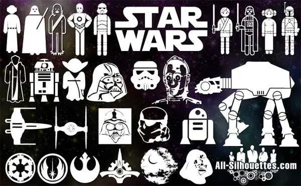 Vector Star Wars Symbols Free