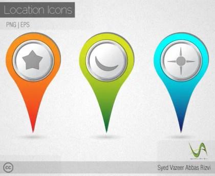 Location Mark Vector Free