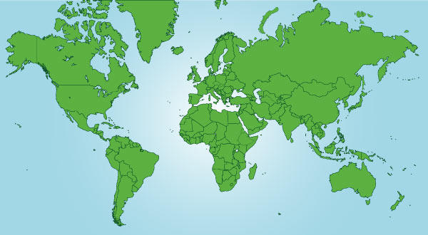 world map vector free download