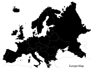 Europe Map Vector Free Download