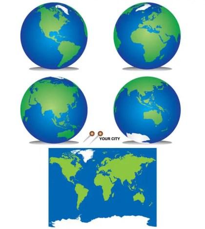 Vector Freebie – Planet Earth