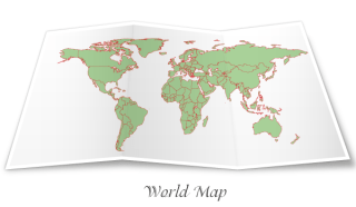 Free World Map Vector Graphic