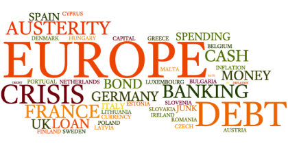 European Debt Crisis Word Cloud