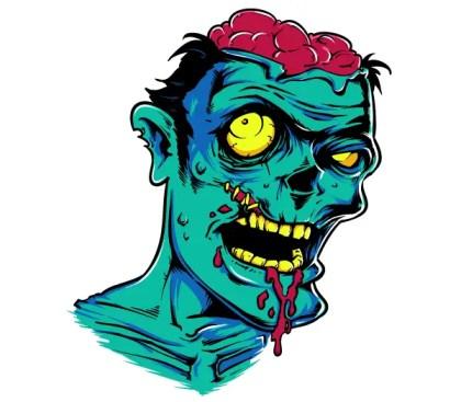 Free Zombie Vector Graphics