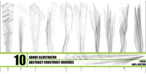 Abstract Construct Brushes