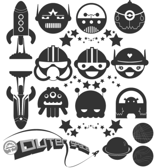Free Space Vector Pack