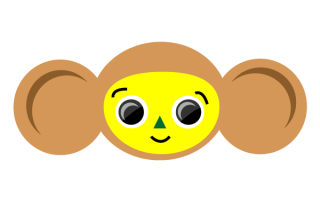 Cheburashka  Russian Cartoon Character Vector