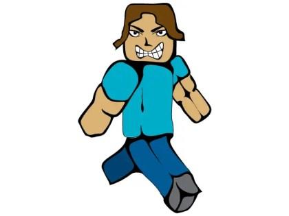 MC Man Minecraft Steve