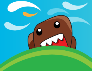 Domo Kun Cute Monster Vector
