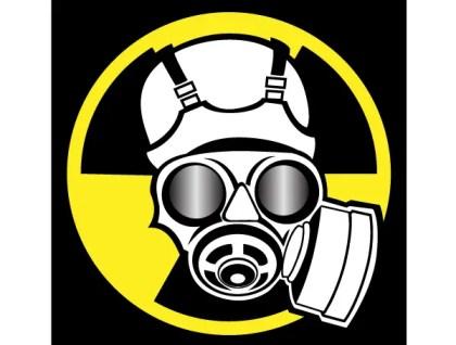Radiation Mask Vector Illustration