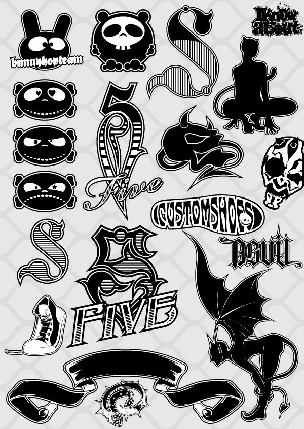 Vector Characters Outline