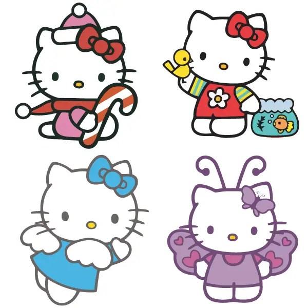 Hello Kitty Vector Free