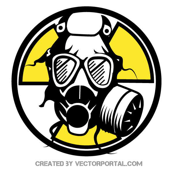 Free Gas Mask Vector