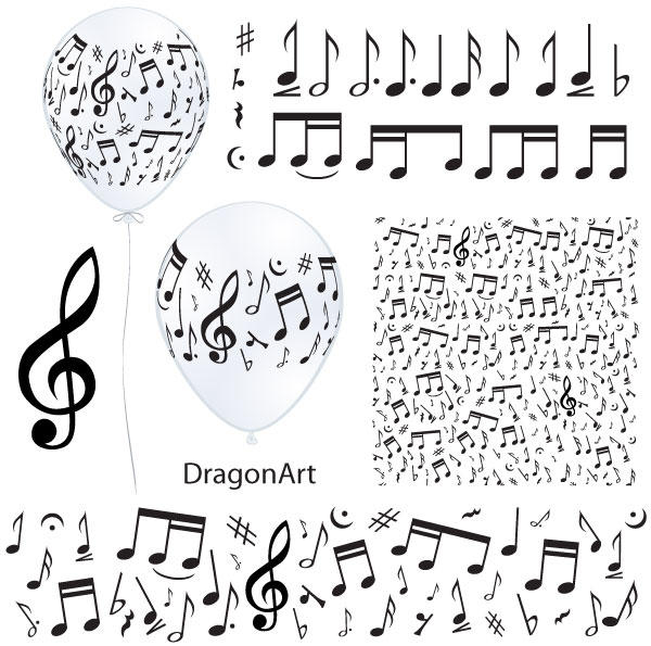 Music Notes Vector 123freevectors