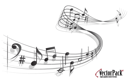 Free Vector Music Notes