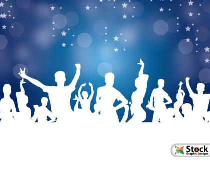 Dance Party Vector Graphics Free