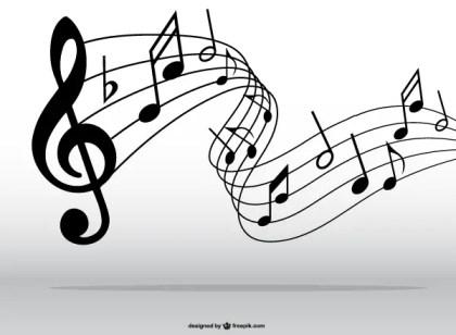 Musical Notes Symbols Clip Art