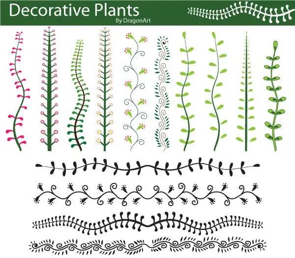 Decorative PlantsVector