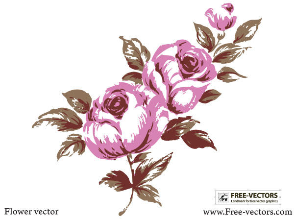 Flower Vector Free