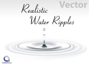 Free Realistic Vector Water Ripples