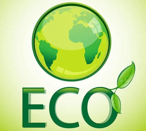 Eco Globe Vector Illustrator