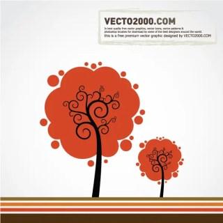 Free Color Tree Vector