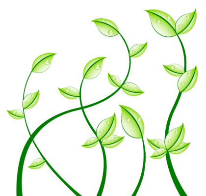 Green Leaves Free Vector Graphics