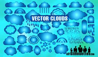 Free Vector Clouds