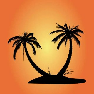 Free Vector Palm Tree Silhouettes
