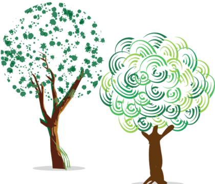 Free Green Tree Vector Art