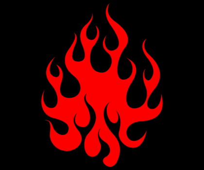 Free Vector Flames