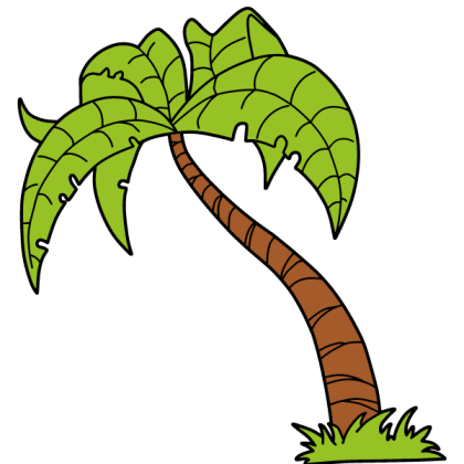 Palm Tree Stock Vector Image
