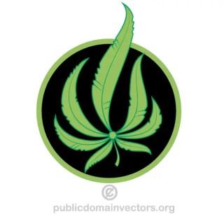 Vector Green Leaves Clip Art