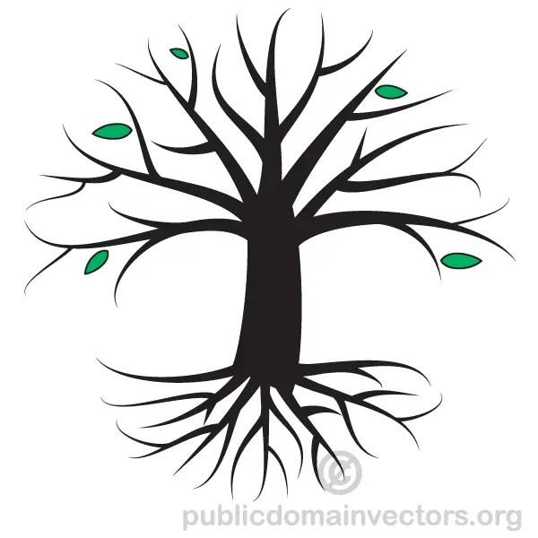 Autumn Tree Vector Art