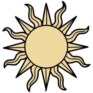 Sun Vector Illustrator