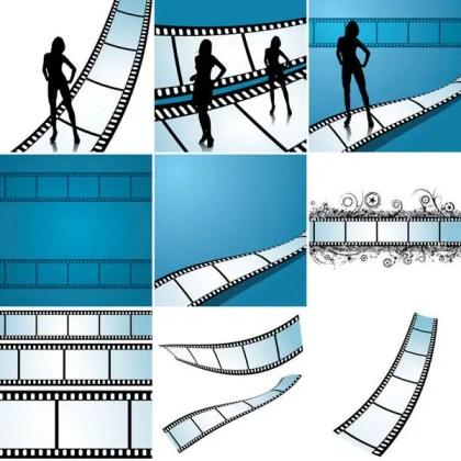 FilmstripsVector