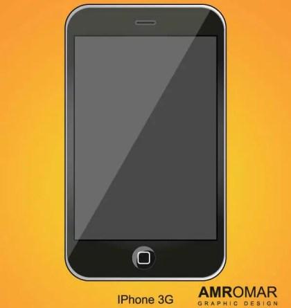 iPhone 3g Vector
