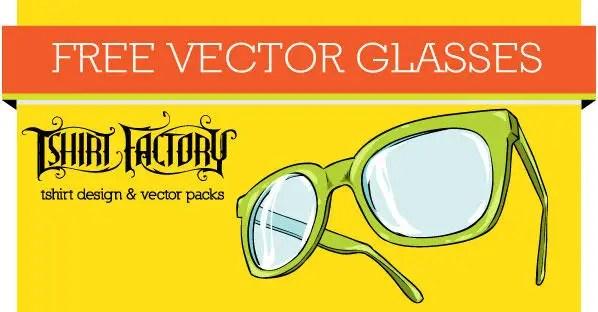Free Glasses Vector