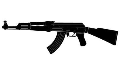 Kalashnikov Vector Art