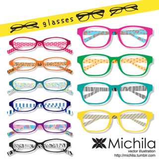 Glasses Vector Art