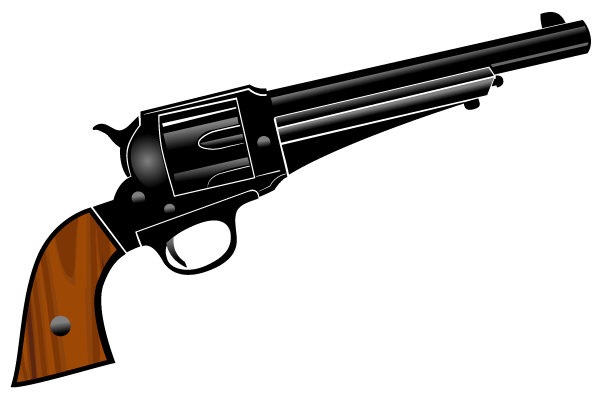 Pistol Vector Clipart