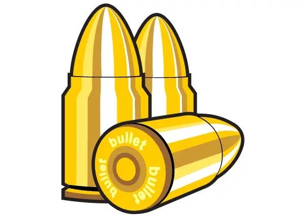 free bullet icons vector clip art 123freevectors rh 123freevectors com bullet hole clipart bullet clipart png