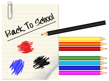 Free Back to School Vector Design