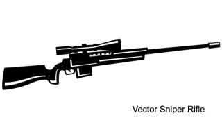 Free Sniper Rifle Vector